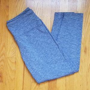 Style & Co. Sport Heathered Blue Leggings
